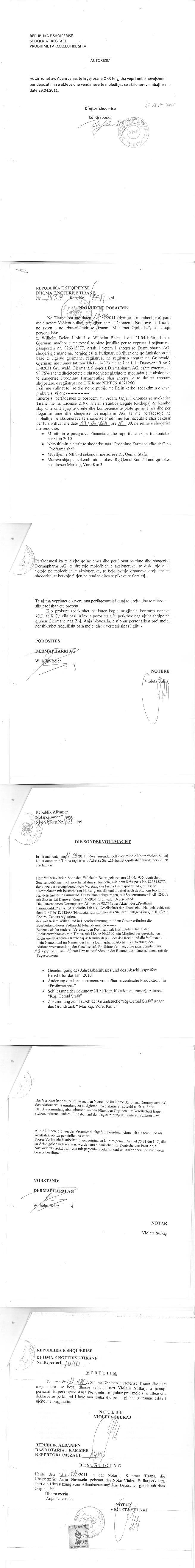 Modern Sondervollmachtsformular Pattern - FORTSETZUNG ARBEITSBLATT ...